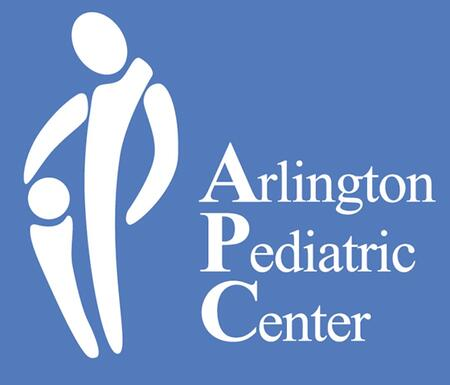 Arlington Pediatric Center bad logo