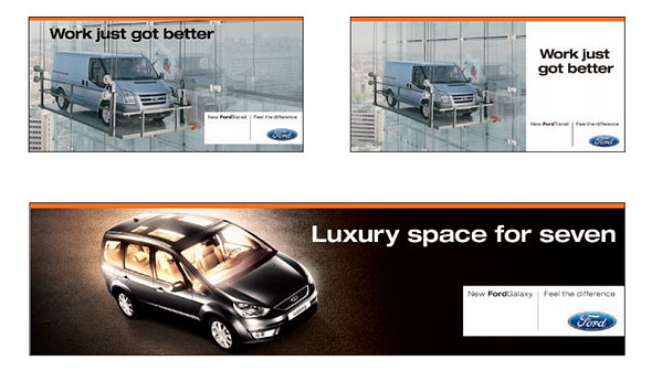 Ford Brand Book / Style Guide example