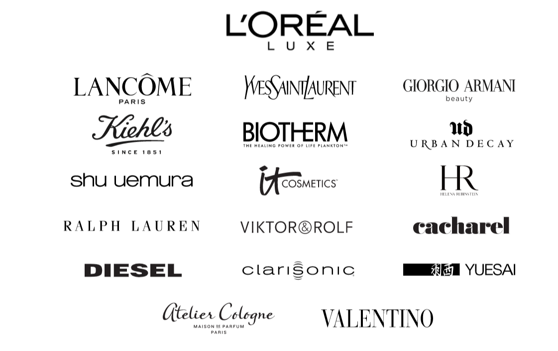 LOreal multi brand strategy example