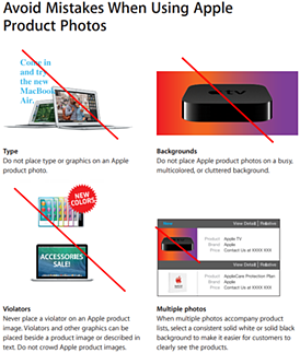 Apple Brand Book / Style Guide example
