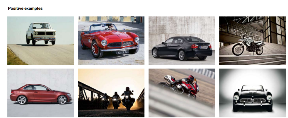 BMW Brand Book / Style Guide example